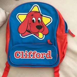 Clifford toddler backpack